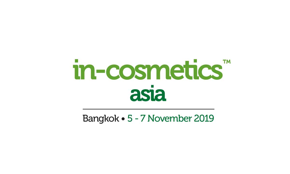 2019 In-Cosmetics Thailand Exhibition